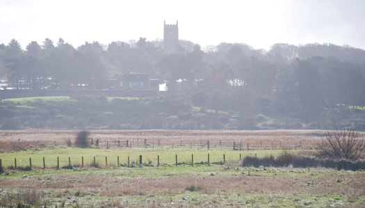 Blakeney - church and saltmarsh